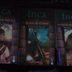 Libros de segunda mano: INCA - DANIEL, ANTOINE B LITERATURA FRANCESA. NOVELA. SIGLO XX. 2003. BOOKET. BARCELONA.. Lote 189571308