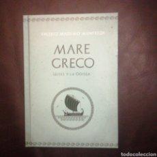 Libros de segunda mano: MARE GRECO. Lote 190735781