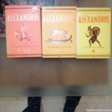 Libros de segunda mano: TRILOGÍA ALEXANDROS ( MANFREDI). Lote 191116691