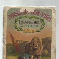 Livros em segunda mão: EPISODIOS DE LA REVOLUCIÓN ESPAÑOLA, 1866, ROBLES Y COMPAÑIA, USADO. COLECCIÓN A.T.. Lote 191637945