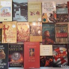Libros de segunda mano: OPORTUNIDAD LOTE 20 LIBROS NOVELA HISTÓRICA. Lote 191740801