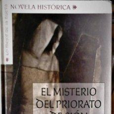 Libros de segunda mano: JEAN-MICHEL THIBAUX - EL MISTERIO DEL PRIORATO DE SIÓN. Lote 192354666
