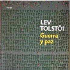 Libros de segunda mano: LEV TOLSTÓI - GUERRA Y PAZ (BOLSILLO). Lote 192364368