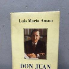 Libros de segunda mano: DON JUAN POR LUISA MARÍA ANSON. Lote 192480316