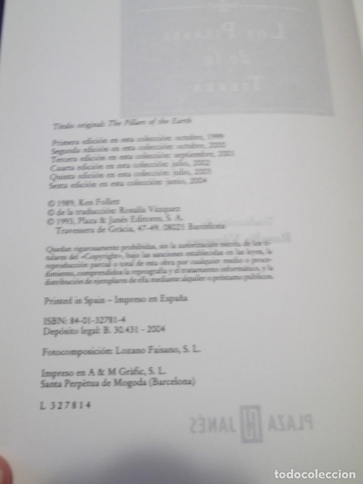 Libros de segunda mano: Libro Los Pilares de la Tierra,Ken Follet - Foto 4 - 194236057