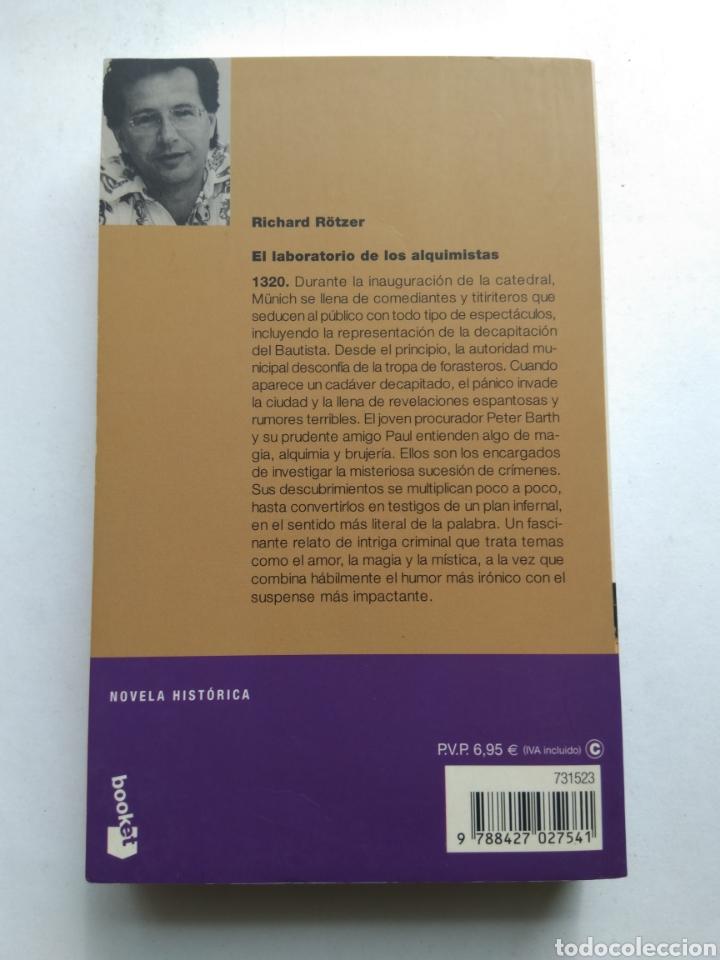 Libros de segunda mano: EL LABORATORIO DE LOS ALQUIMISTAS/RICHARD RÖTZER - Foto 2 - 194254341