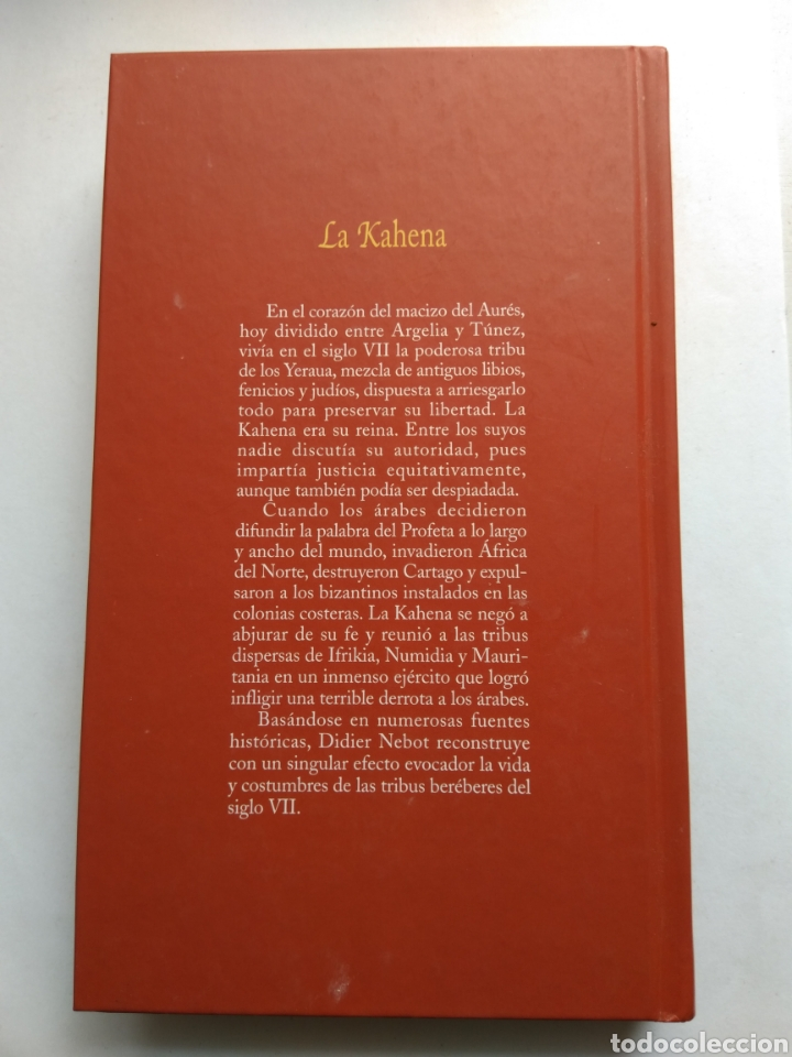 Libros de segunda mano: LA KAHENA/LA REINA JUDÍA DE IFRIKIA/DIDIER NEBOT - Foto 2 - 194254652