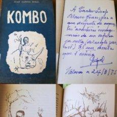 Libros de segunda mano: KOMBO. GARCÍA RIGAL JUAN. 1949. Lote 194296338