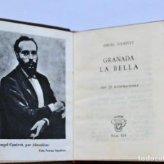 Libros de segunda mano: GRANADA LA BELLA - ANGEL GANIVET- 25 ILUSTRACIONES -CRISOL Nº018 1962 TOLLE LEGE (8,2 X 6,7 CM). Lote 194301840