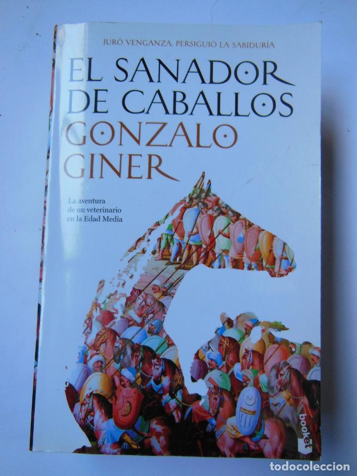 EL SANADOR DE CABALLOS. GINER GONZALO. 2011 (Libros de Segunda Mano (posteriores a 1936) - Literatura - Narrativa - Novela Histórica)