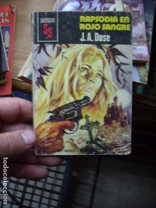 RAPSODIA EN ROJO SANGRE, J. A. DOSE. N.1111-755 (Libros de Segunda Mano (posteriores a 1936) - Literatura - Narrativa - Novela Histórica)