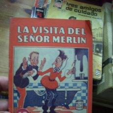 Libros de segunda mano: LA VISITA DEL SEÑOR MERLÍN. N.1111-760. Lote 194374493