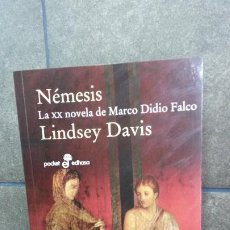 Libros de segunda mano: NEMESIS: LA XX NOVELA DE MARCO DIDIO FALCO. LINDSEY DAVIS. POCKET EDHASA 2014. . Lote 194388758