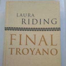 Libros de segunda mano: FINAL TROYANO/LAURA RIDING. Lote 194642533