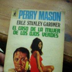 Libros de segunda mano: EL CASO DE LA MUJER DE LOS OJOS VERDES, ERLE STANLEY GARDNER. L.19132-152. Lote 194661748