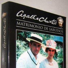Libros de segunda mano: EL MISTERIOSO SEÑOR BROWN - MATRIMONIO DE SABUESOS - AGATHA CHRISTIE. Lote 194719798