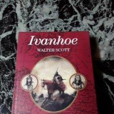 Libros de segunda mano: IVANHOE, DE WALTER SCOTT. EDHASA ED. COLECCIONISTA, ILUSTRADO. EXCELENTE ESTADO.. Lote 194727060