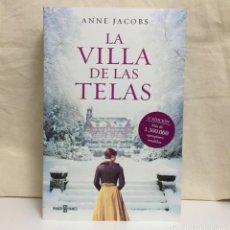 Libros de segunda mano: LA VILLA DE LAS TELAS (ANNE JACOBS). Lote 194740170
