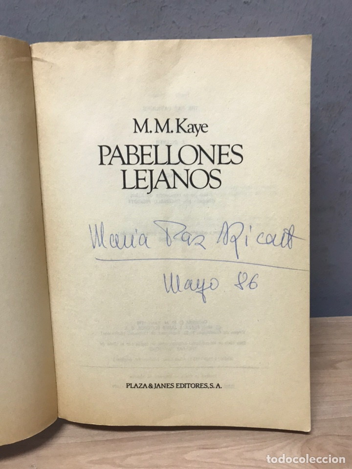 Libros de segunda mano: Pabellones lejanos por M M Kaye - Foto 9 - 194861331