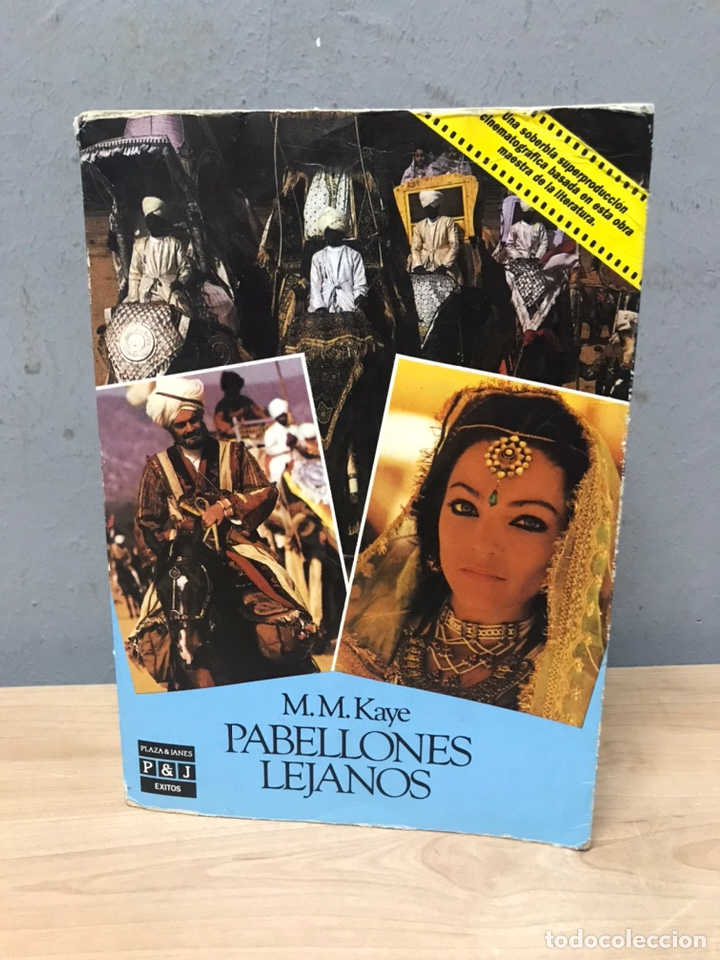 PABELLONES LEJANOS POR M M KAYE (Libros de Segunda Mano (posteriores a 1936) - Literatura - Narrativa - Novela Histórica)