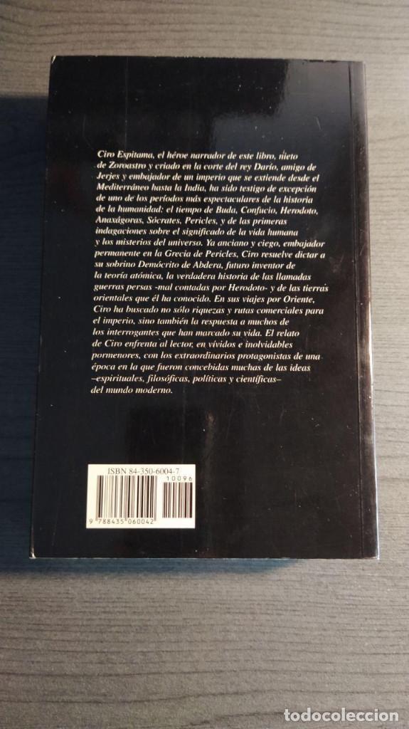 Libros de segunda mano: CREACION. GORE VIDAL Ed. Edhasa - Foto 8 - 194880318
