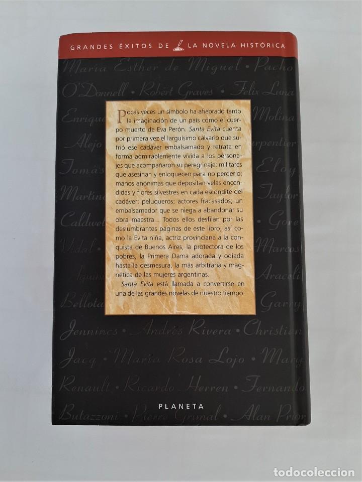 Libros de segunda mano: SANTA EVITA -NOVELA - TOMÁS ELOY MARTÍNEZ - PLANETA - Foto 2 - 194901236