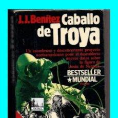 Libros de segunda mano: CABALLO DE TROYA 1 Y 2 - J.J. BENÍTEZ - PLANETA - JESÚS DE NAZARET - VIAJES EN EL TIEMPO - 7 EUROS. Lote 194941077