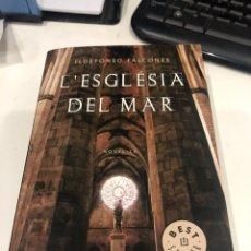 Libros de segunda mano: L'ESGLESIA DEL MAR. Lote 194958857