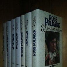 Libros de segunda mano: POLDARK, WINSTON GRAHAM, SAGA COMPLETA, COLECCION SIETE TOMOS, CIRCULO DE LECTORES, LIBROS. Lote 195016852