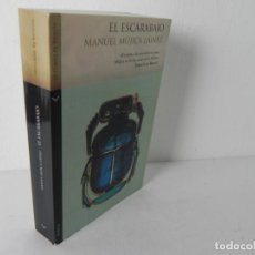 Libros de segunda mano: EL ESCARABAJO (MANUEL MÚJICA LÁINEZ) VERTICALES DE BOLSILLO-2007 1ª EDICIÓN. Lote 195034048