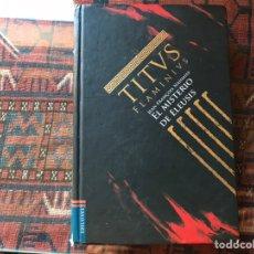 Libros de segunda mano: EL MISTERIO DE ELEUSIS. TITUS FLAMINIUS. Lote 195061340