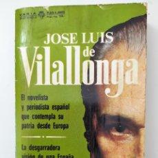 Libros de segunda mano: ALLEGRO BARBARO DE JOSE LUIS DE VILALLONGA. Lote 195094340