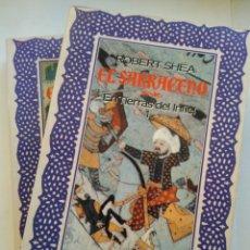 Libros de segunda mano: EL SARRACENO 2 TOMOS/ROBERT SHEA. Lote 195099716
