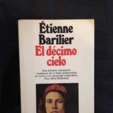 Libros de segunda mano: EL DÉCIMO CIELO ETIENNE BARILIER. Lote 195104540