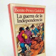 Libros de segunda mano: TODOLIBRO. LA GUERRA DE LA INDEPENDENCIA (BENITO PÉREZ GALDÓS / JULIO MONTAÑÉS) BRUGUERA, 1981. Lote 195123422