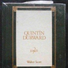 Libros de segunda mano: PRECINTADO: QUINTÍN DURWARD (WALTER SCOTT) ED. ORBIS. NOVELA HISTÓRICA.. Lote 195141011