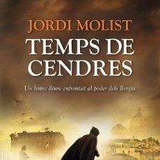 Libros de segunda mano: TEMPS DE CENDRES (CATALÁN). Lote 195190330