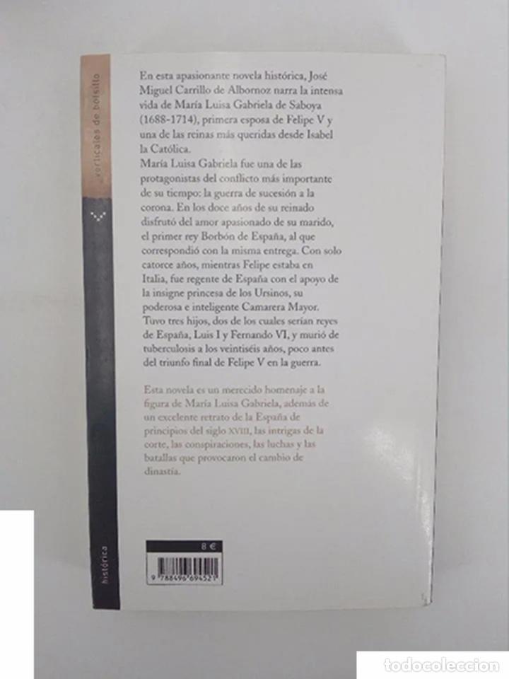 Libros de segunda mano: JAQUE A LA REINA BLANCA (J.M. Carrillo De Albornoz) Norma, 2007. OFRT antes 9E - Foto 3 - 195215692