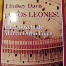 Libros de segunda mano: ¡A LOS LEONES! LINDSEY DAVID. LA X NOVELA DE MARCO DIDIO FALCO. EDHASA. AÑO 2011. RÚSTICA. PÁGINAS 5. Lote 195232470