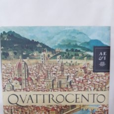 Libros de segunda mano: QUATTROCENTO DE SUSANA FORTES. ED.PLANETA. Lote 195430902