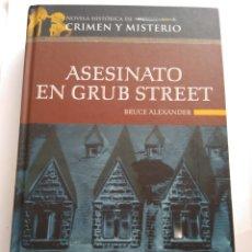 Libros de segunda mano: ASESINATO EN GRUB STREET/BRUCE ALEXANDER. Lote 195434283