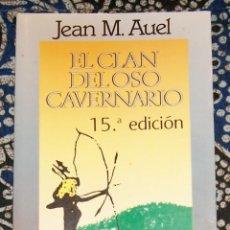 Libros de segunda mano: EL CLAN DEL OSO CAVERNARIO JEAN M. AUEL . Lote 195434612