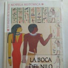 Libros de segunda mano: LA BOCA DEL NILO/LEON ARSENAL. Lote 195439765