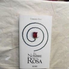 Libros de segunda mano: EL NOMBRE DE LA ROSA POR UMBERTO ECO . Lote 195500777