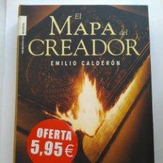 Libros de segunda mano: EL MAPA DEL CREADOR/EMILIO CALDERÓN. Lote 195523535