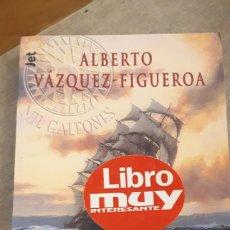 Libros de segunda mano: TIEMPO DE CONQUISTADORES - ALBERTO VÁZQUEZ FIGUEROA. Lote 196308815