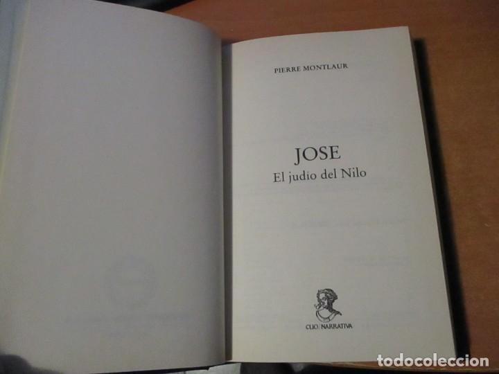Libros de segunda mano: JOSÉ El Judio del Nilo Pierre Montlaur Editorial Edaf Edesco 1996 - Foto 4 - 198295815