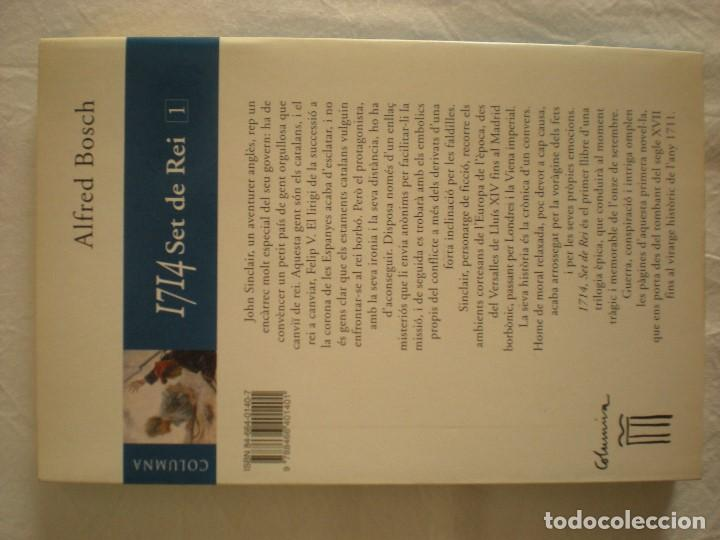 Libros de segunda mano: 1714 - Set de Rei (Editorial Columna) Alfred Bosch - Foto 2 - 198536483