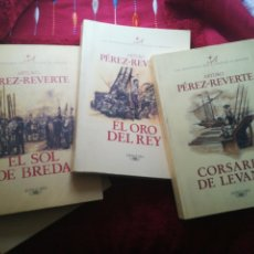 Libros de segunda mano: CINCO LIBROS DE LAS AVENTURAS DEL CAPITÁN ALATRISTE ARTURO PÉREZ REVERTE ALFAGUARA 1996. Lote 199512326