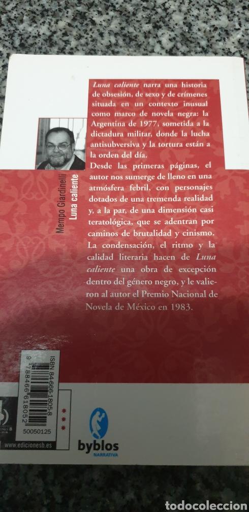 Libros de segunda mano: Luna caliente mempo giardinelli - Foto 2 - 200180671